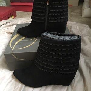 Enzo Angiolini Platform Ankle Boots